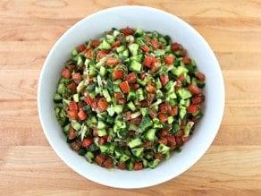 Mexican-Israeli-Salad