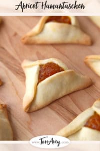 Pinterest pin for Apricot Hamantaschen filling on ToriAvey.com
