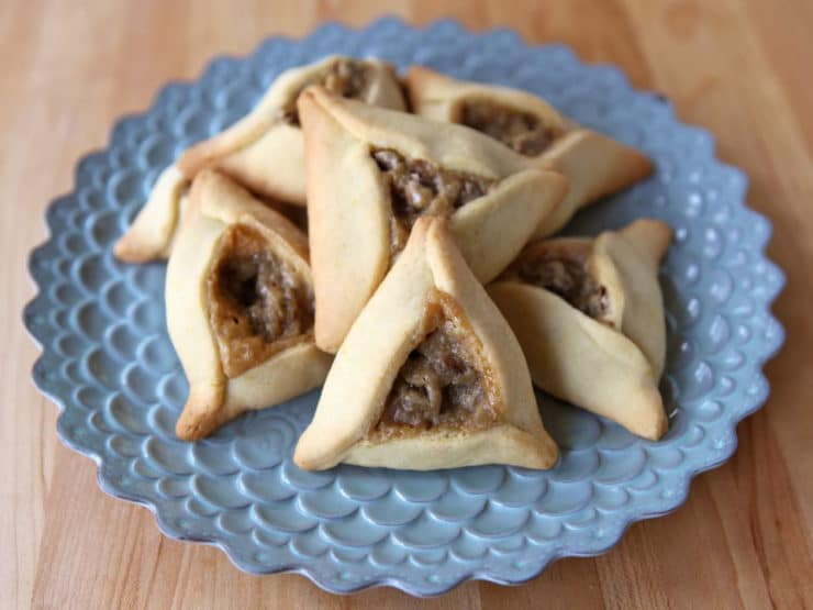 Rabbi Olitzky's Chocolate Cream Cheese Hamantaschen