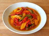 Colorful Pepper Salad 1