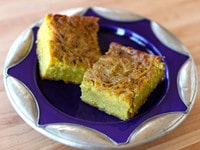 Passover Potato Kugel Close