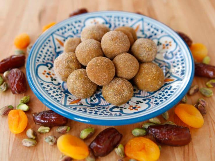 Sephardic Charoset Truffles 1