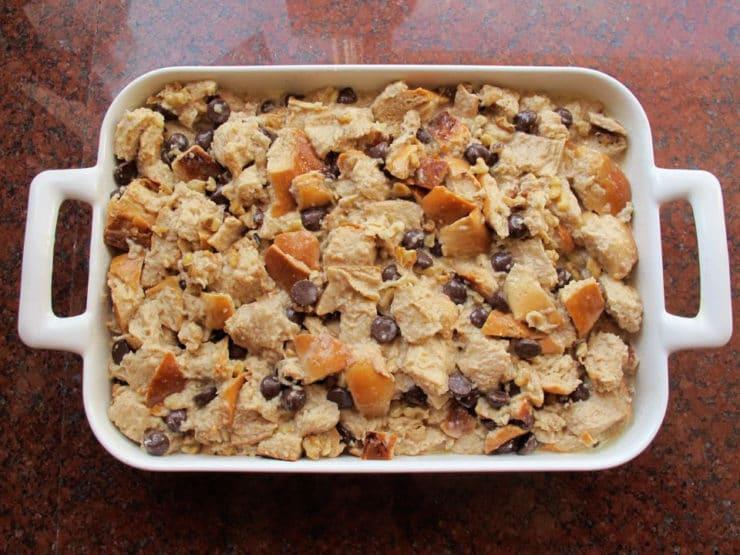 Challah Bread Pudding With Kahlua Cream Sauce Recipes — Dishmaps