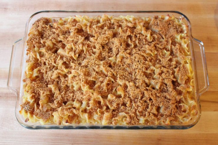 Creamy Noodle Kugel - A delicious and adaptable sweet kugel recipe. Make as written or use as recipe base and substitute your favorite kugel ingredients. The only limit is your imagination!