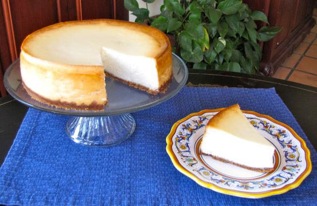 Shavuot, Ruth, and Cheesecake - Learn the history of the Shavuot holiday, then celebrate the holiday with a rich and delicious New York-style cheesecake recipe. Kosher, Dairy.