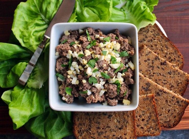 Chopped Liver Traditional Jewish Deli Style Liver Recipe