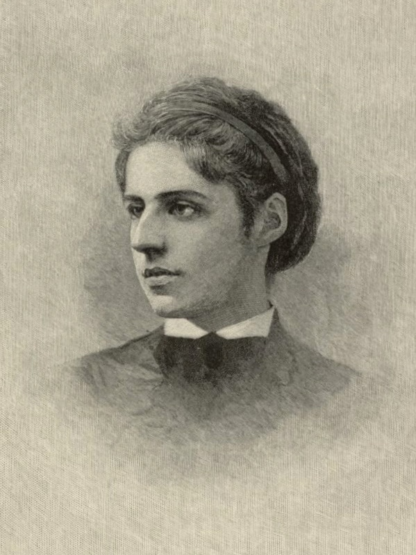 A poem from Emma Lazarus, one of the first successful Jewish American writers.