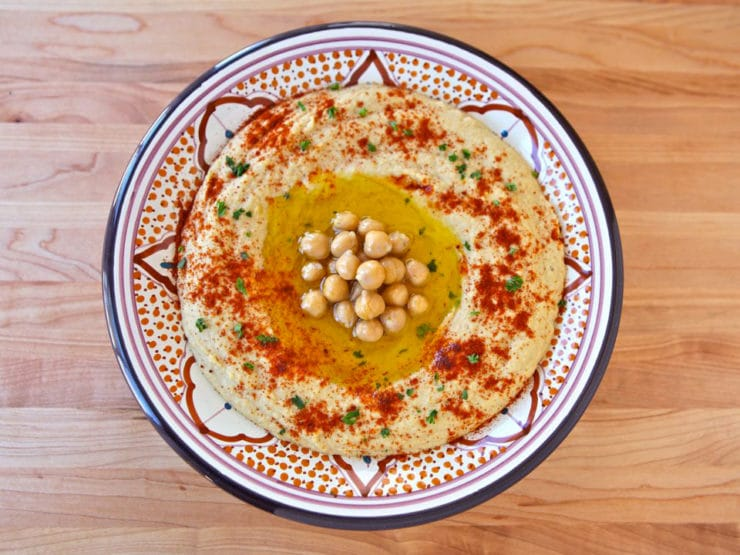 Amazing dish inspired by Tori Avey's Recipe Hummus