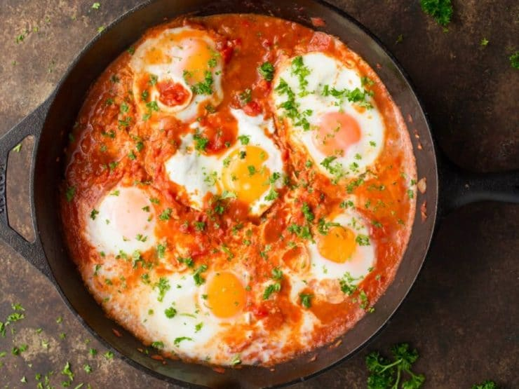 Shakshuka Recipe Video For Delicious Middle Eastern Egg Dish