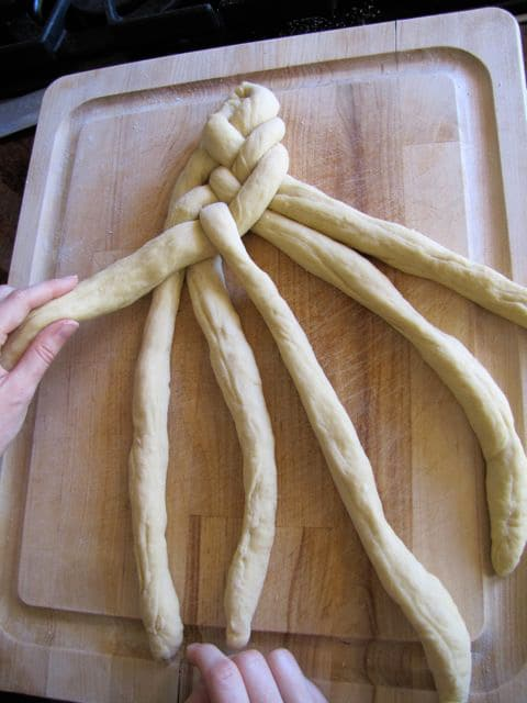 Six-Strand Braided Challah Recipes — Dishmaps