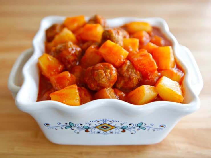 Susan Fedrow's Sweet and Sour Meatballs
