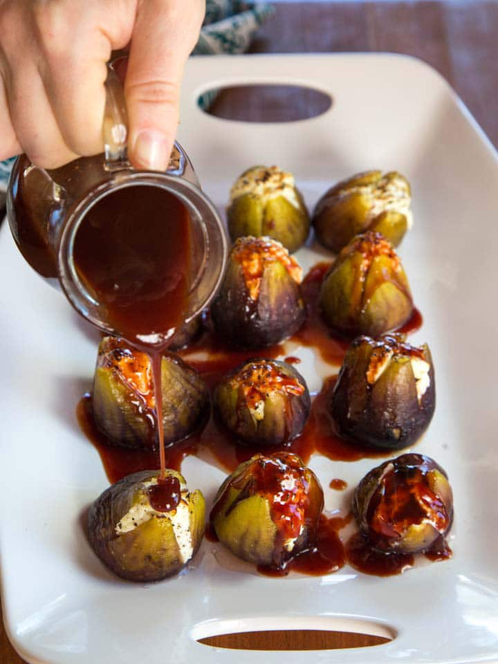 Stuffed Figs with Goat Cheese – Recipe for Roasted Sweet Figs with ...