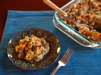 Challah Chestnut Stuffing - Kosher Thanksgiving Holiday Recipe