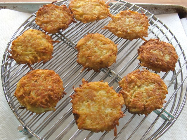 Classic Potato Latkes - Step by Step Recipe
