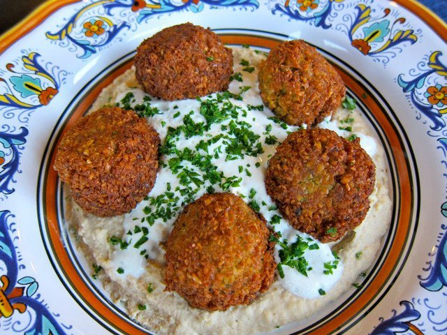 Falafel Recipe on ToriAvey.com