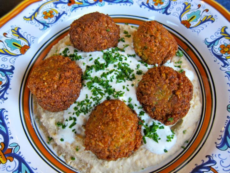 Falafel traditional recipe for chickpea falafel for Arabic cuisine names