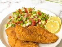 Chicken Schnitzel Pinterest Pin
