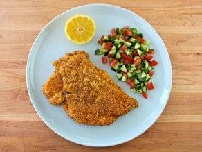 Passover Chicken Schnitzel 1