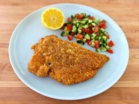 Passover Chicken Schnitzel Main
