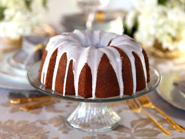 Pistachio poppy seed cake recipe