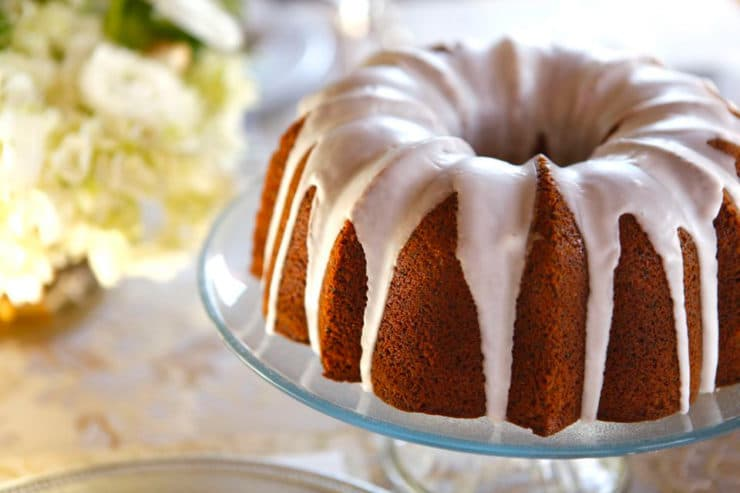 Lemon Poppy Seed Cake Amp Lemon Glaze Recipe By Tori Avey