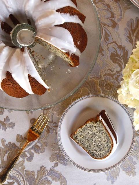 Lemon Poppy Seed Cake with Lemon Glaze - Classic Purim Recipe by Tori Avey