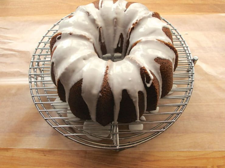 Purim Poppyseed Cake with Lemon Glaze from Tori Avey