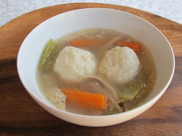 Passover Chicken Soup for Knaidelach or Matzo Balls