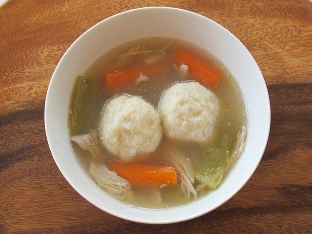 Gluten Free Matzo Balls – Potato Knaidelach