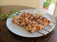 Rosemary Lemon Chicken Skewers