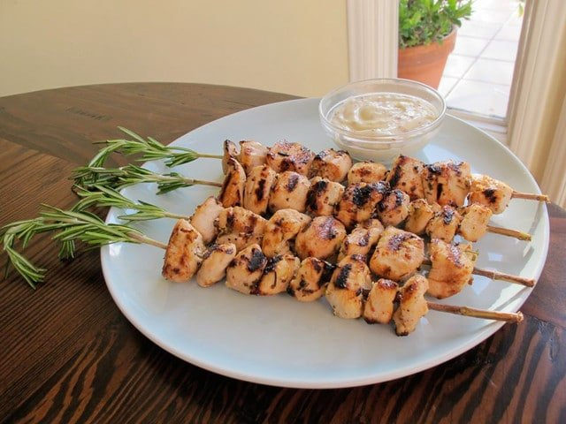 rosemary skewers re skewer them on the fresh rosemary skewers