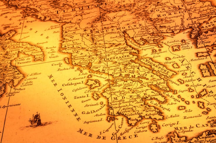 ... Photos - Map Of Europe Map Of Ancient Greece Map Of Greece Islands