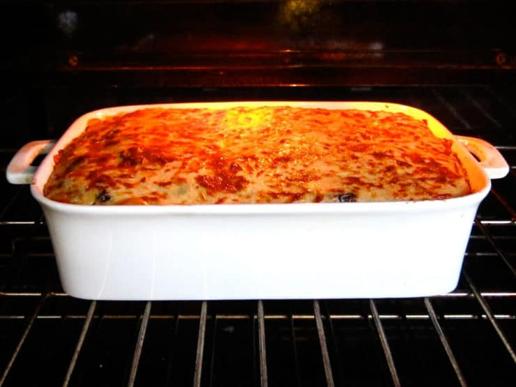 Roasted Vegetable Moussaka Mediterranean Vegetarian Recipe