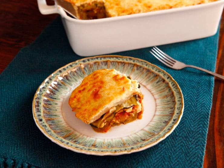 Roasted Vegetable Moussaka