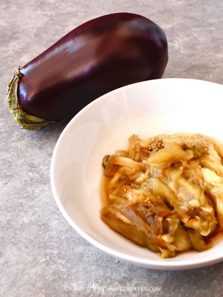 How to Roast Eggplant - Learn to Char and Cook Whole Eggplant for Dips, Purees and more!