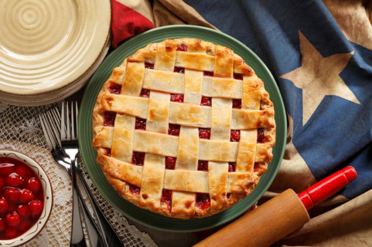 The History of Pie in America - Read about the history of pie in America. Pie is a national symbol of abundance, and an important (and tasty!) part of our food heritage.