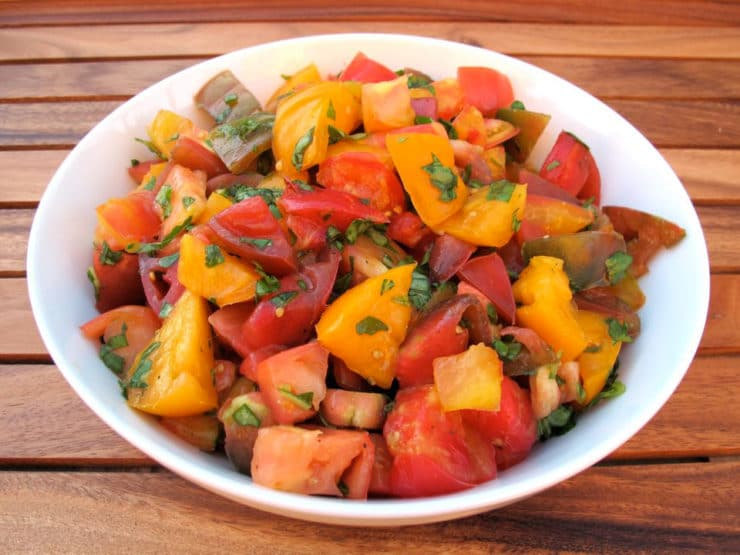 Marinated Heirloom Tomato Salad 6