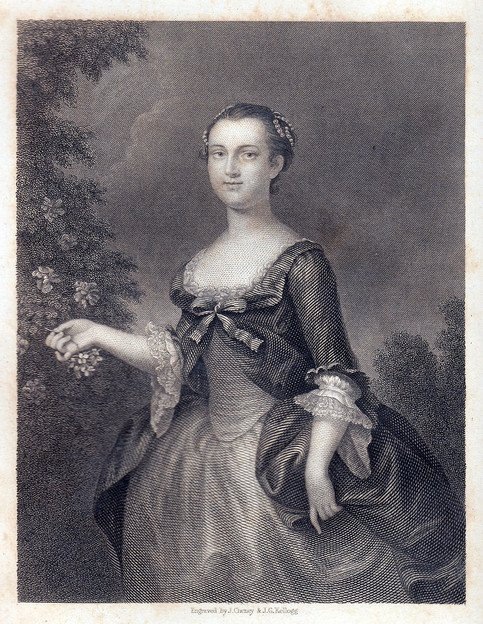 Martha_Custis_Washington_as_a_young_woman_circa_1843_(Steel_engraving)