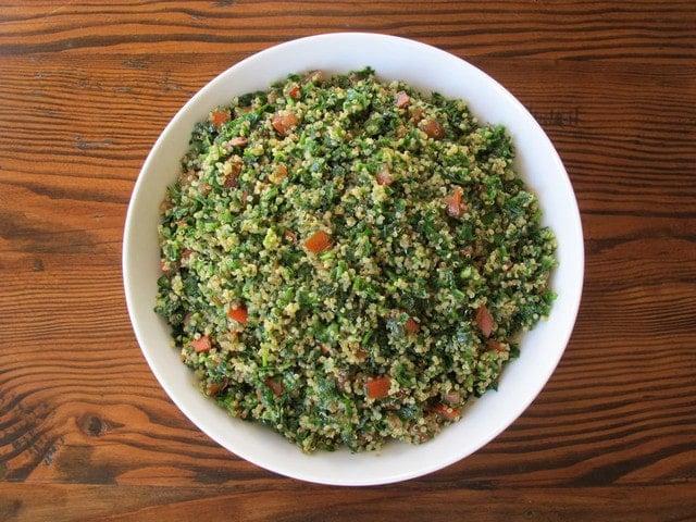 Quinoa Tabbouleh Salad - Tasty Gluten Free Tabbouleh