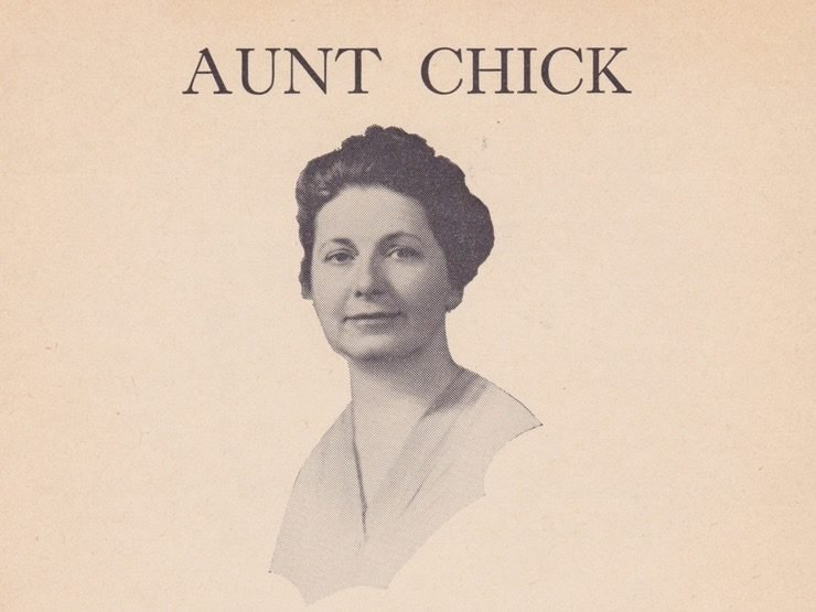 Portrait of Aunt Chick