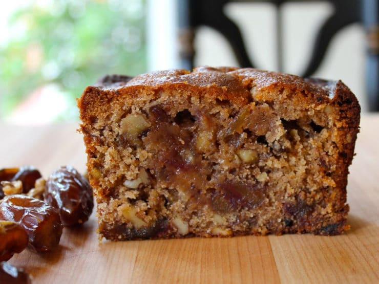 Date Honey Nut Cake