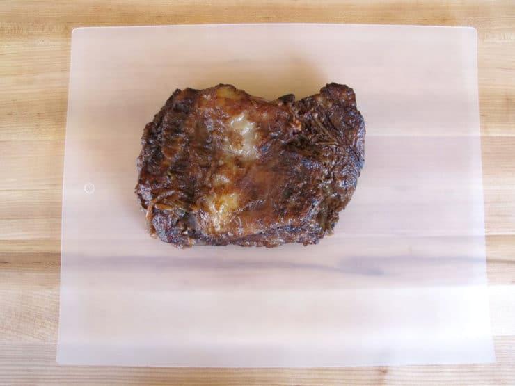 Pomegranate Molasses Brisket 12