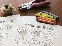 RoshHashanah-colorable1