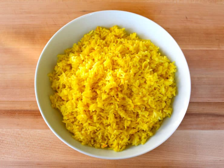 Saffron Rice - A Fragrant Savory Side Dish