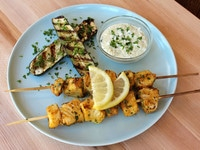 Sephardic Fish Skewers 2