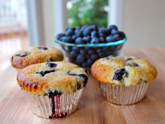 Buttermilk Blueberry Muffins - Seriously Delicious Muffins