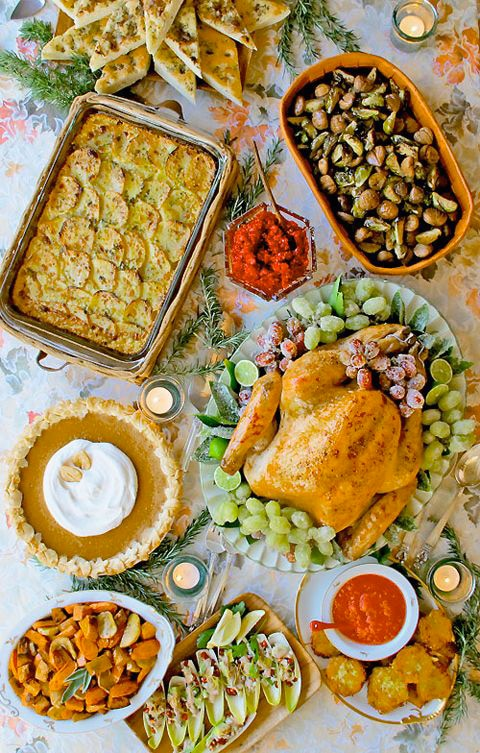 A Thanksgiving Potluck To Remember - Thanksgiving potluck with Los Angeles food bloggers Worth the Whisk, Food Fanatics, La Fuji Mama, Sippity Sup, Chef Louise Mellor, Black Girl Chef's Whites, and Shockingly Delicious.