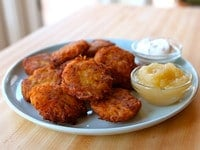 Yukon Gold Latkes Close 2