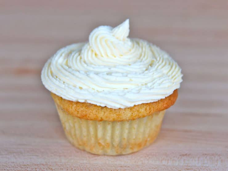 Coconut Buttercream Frosting - Make thick, rich, creamy coconut buttercream from scratch in just 5 minutes with step-by-step photos. Easy, Kosher, Dairy.
