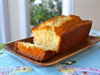 Emily Dickinson Coconut Cake Close